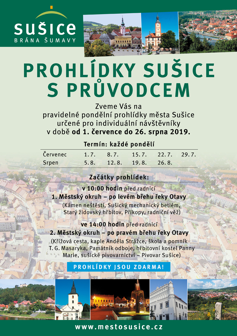 prohlidky susice